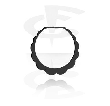 Mustat korvarengas venytyskoruun
