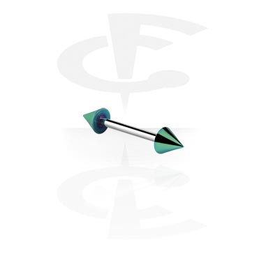 Barbell with Anodised Cones