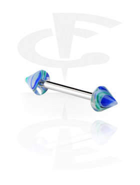 Barbell with Jaw Breaker Cones
