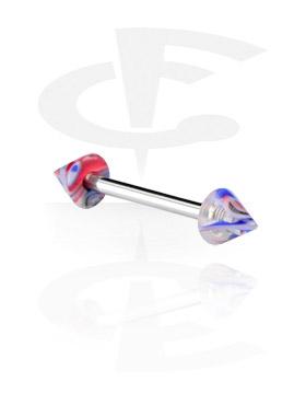 Barbell con Jaw Breaker Cones