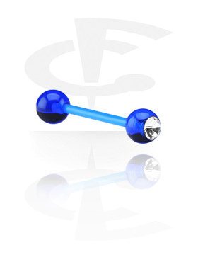 Jeweled Flexible Barbell