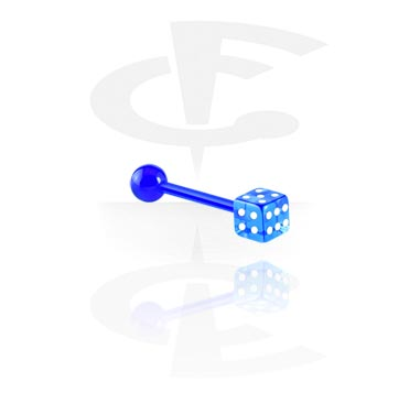 Barbells, Barbell with Dice, Acrylic