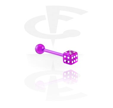 Barbellit, Barbell with Dice, Acrylic
