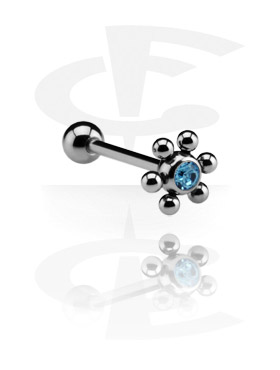 Barbellit, Barbell with Attachment, Surgical Steel 316L