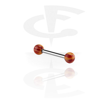 Barbell con colored balls