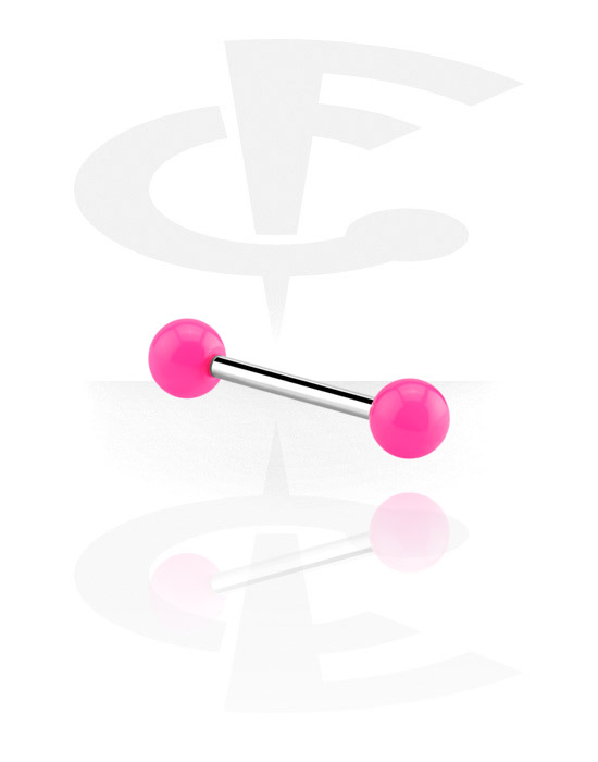 Barbells, Barbell with Balls, Surgical Steel 316L, Acrylic