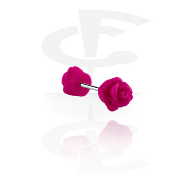 Barbell con rose attachment
