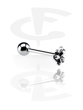 Sztangi, Barbell with Steel Cast Attachment, Surgical Steel 316L