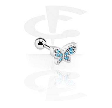 Barbell with butterfly attachment