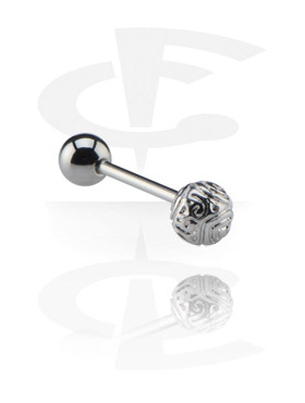 Barbell avec Steel Cast Attachment