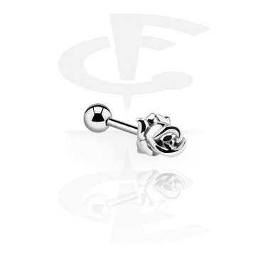 Barbells, Barbell with rose attachment, Surgical Steel 316L