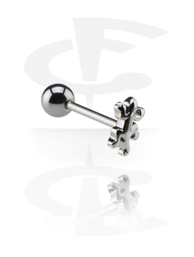Barbell met Steel Cast Attachment