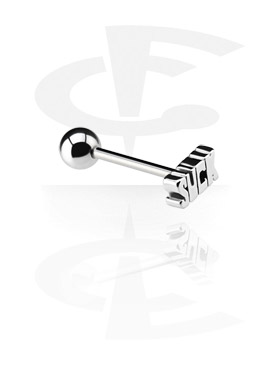 Barbell con Steel Cast Attachment