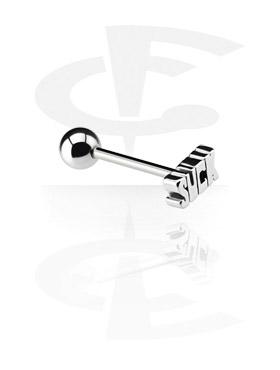 Barbell con Steel Cast Attachment