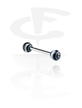 Barbell with Spiral Balls