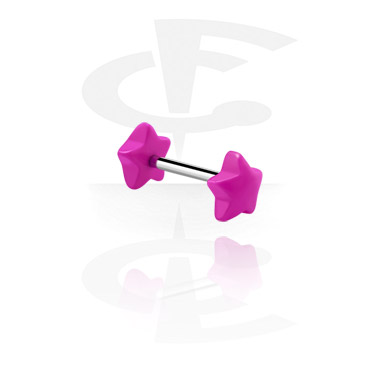 Barbell with star attachment