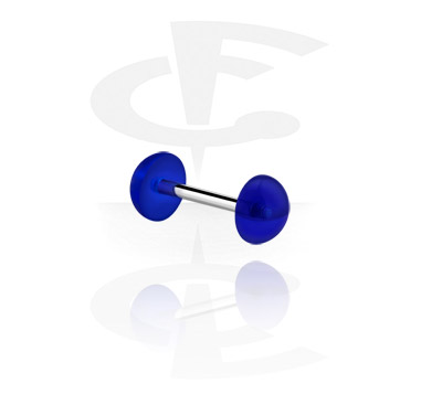 Barbells, Barbell with attachment, Surgical Steel 316L ,  Acrylic