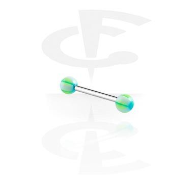 Barbell with Checker Balls