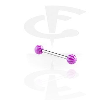 Barbell avec Twister Balls