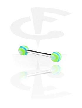 Barbell avec Wave Candy Balls