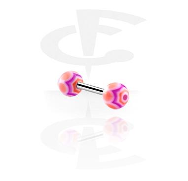 Barbell con colored balls