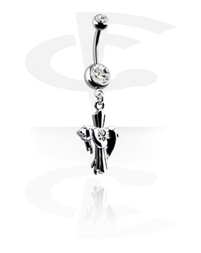 Double Jewelled Banana with Charm