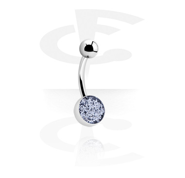 Curved Glitter Barbell