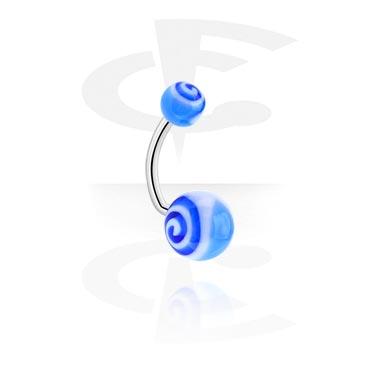 Zaobljena šipkica – Spirala