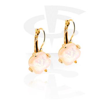 Earrings, Studs & Shields, Earrings, Gold Plated Brass