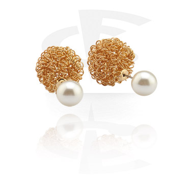 Ear Studs<br/>[Surgical Steel 316L]
