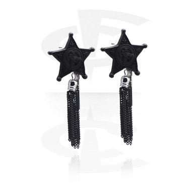 Earrings, Studs & Shields, Ear Studs, Plated Brass