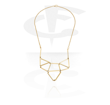 Necklaces, Fashion Necklace, Gold Plated Brass