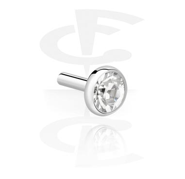 Disco con brillante para bioflex internal labret