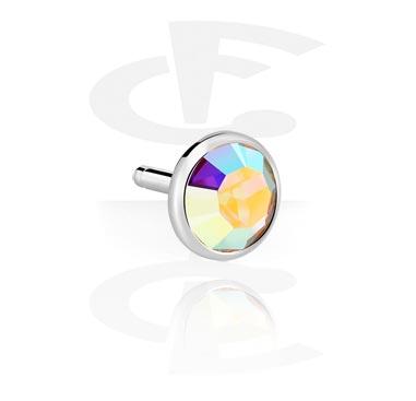 Kristallsteinscheibe für Bioflex Internal Labret