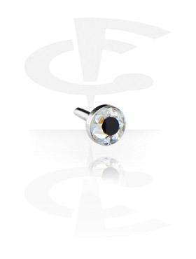 Crystaline Steel Disc per Internal Labrets