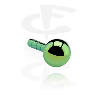 Balls & Replacement Ends, Ball for Bioflex Internal Labrets, Titanium
