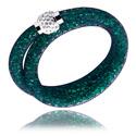 Armbänder, Modisches Armband, Nylon ,  Kristallsteinchen