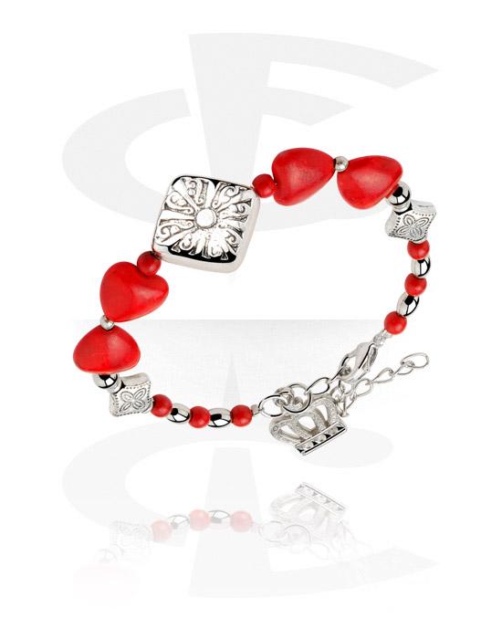 Bransolety, Fashion Bracelet, Stainless Steel, Stone