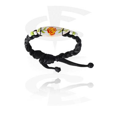 Narukvice, Surfboard Bracelet, Nylon Cord ,  Wood
