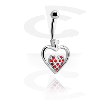 Banana with Heart Motive<br/>[Surgical Steel 316L]