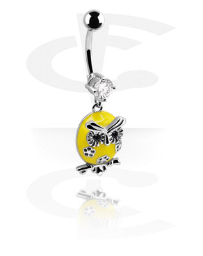 Banana with Owl Charm