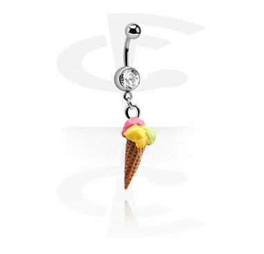 Jeweled Banana with Ice Cream Charm
