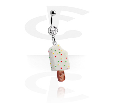 Jeweled Banana with Ice Cream Charm