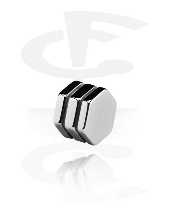 Kuličky, kolíčky a další, Doplněk se závitem – hex šroub, Surgical Steel 316L