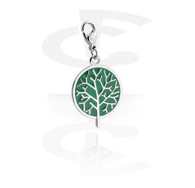 Charm with tree design