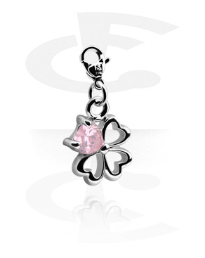 Charms, Charm for Charm Bracelet, Plated Brass, Surgical Steel 316L