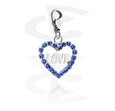 Pulseras y Colgantes, Charm for Charm Bracelets, Acero quirúrgico 316L