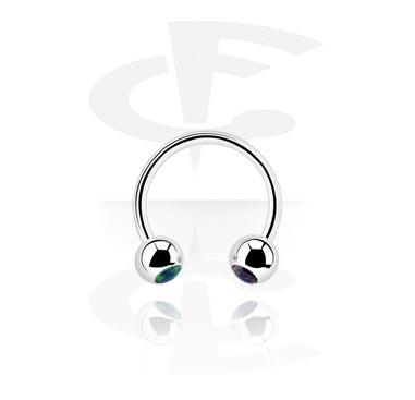 Circular Barbells, Circular barbell, Acero quirúrgico 316L