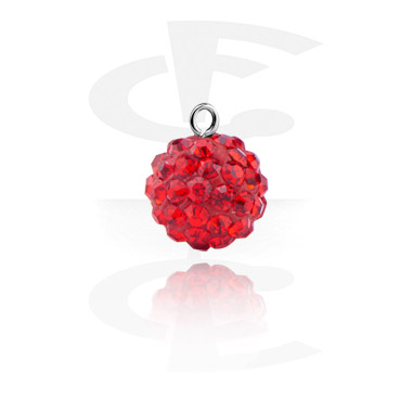 Charm with Crystal Stones