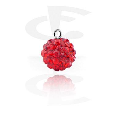 charm con crystal stones